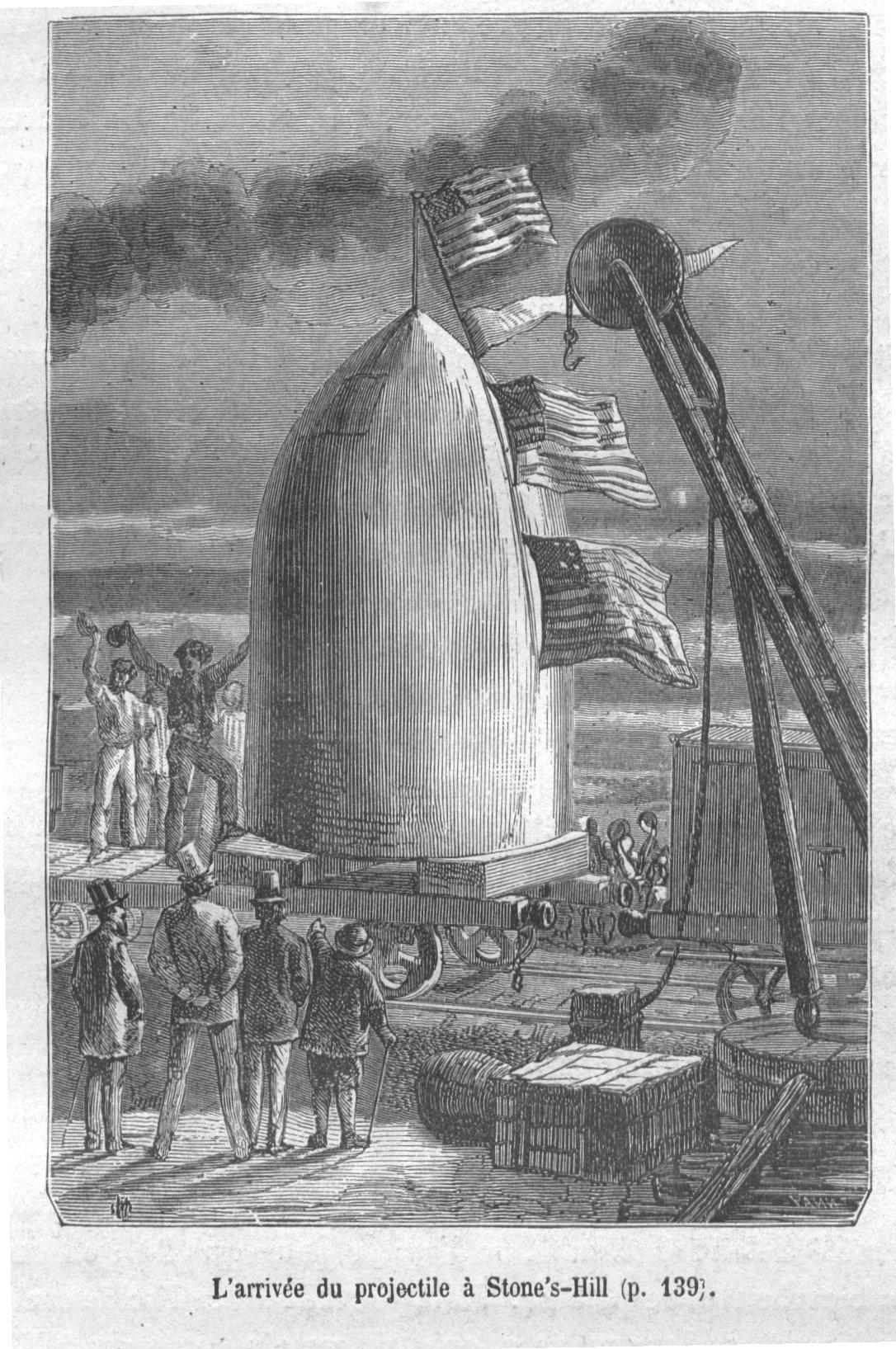 De La Terre à La Lune Jules Verne : terre, jules, verne, Terre, Wikipédia