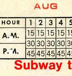 file chicago transit authority ticket 997285 01 jpg [ 2627 x 855 Pixel ]