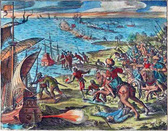 Fall Painting Wallpapers Second Siege Of Diu Wikipedia