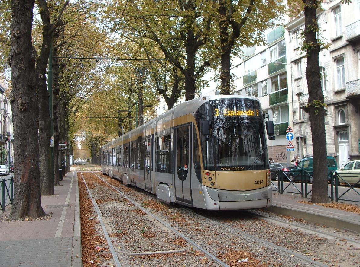 Ligne 3 du tram de Bruxelles  Wikipdia