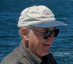 Gordon Moore on a fishing trip