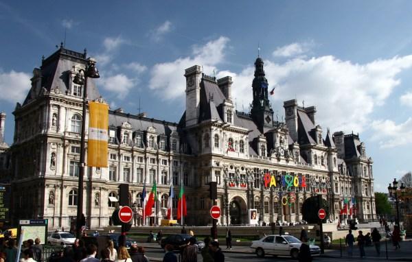 File Hotel De Ville Paris West View