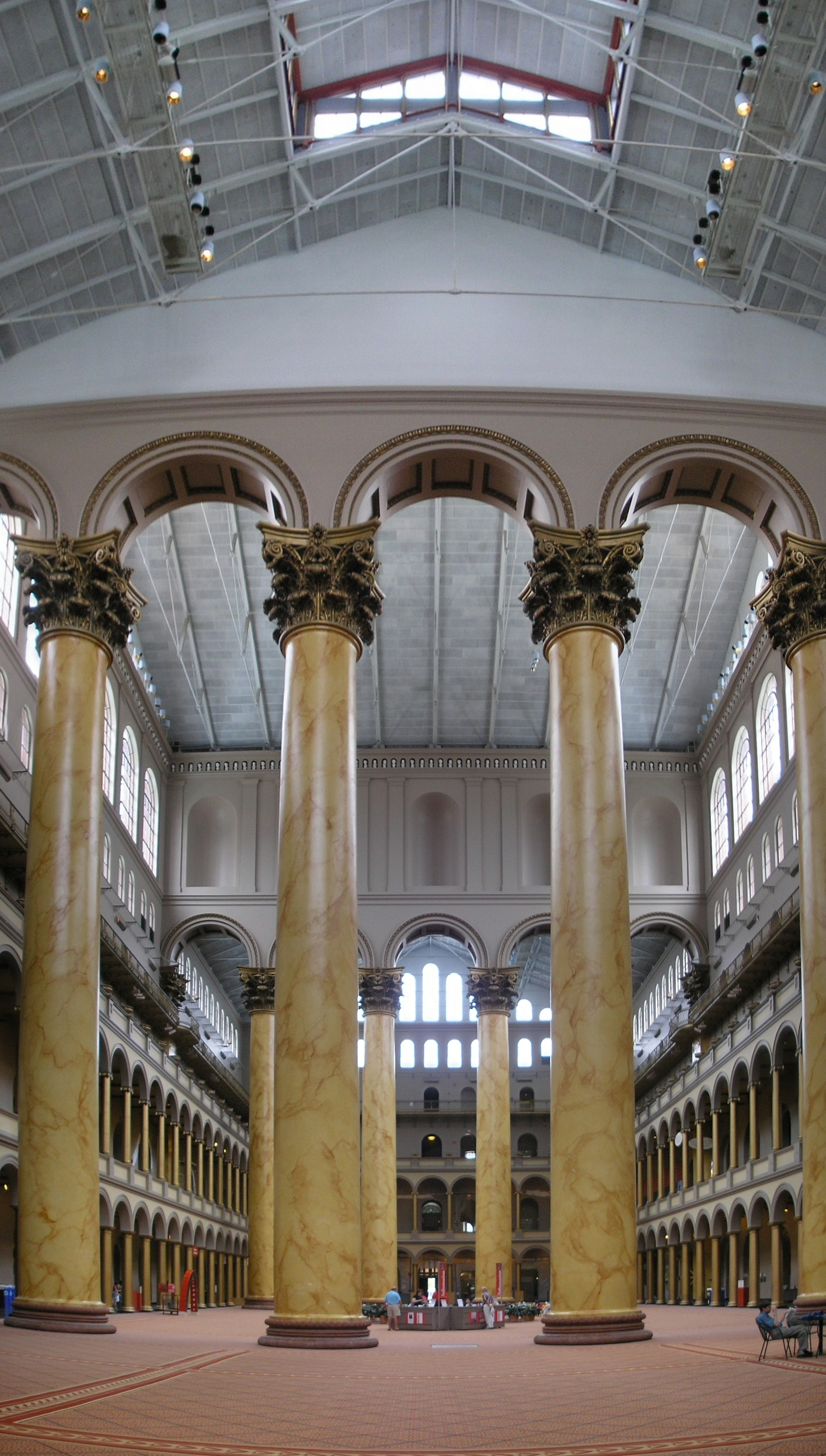 camping folding chair ikea covers australia 50 breathtaking photos of national building museum in washington d.c. : places boomsbeat