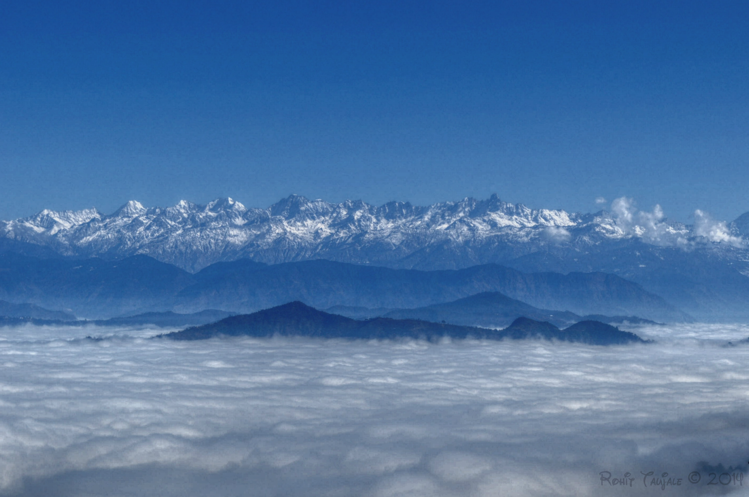 file the himalayas above
