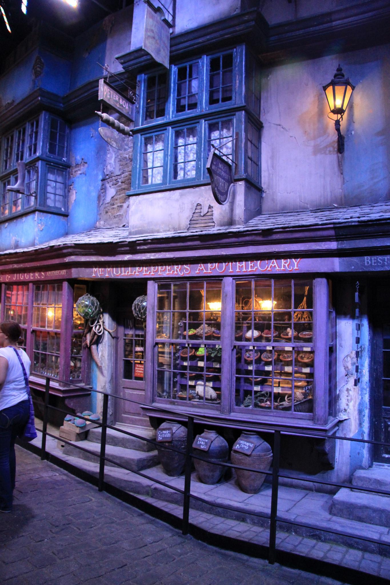 Chemin de Traverse (Harry Potter) — Wikipédia