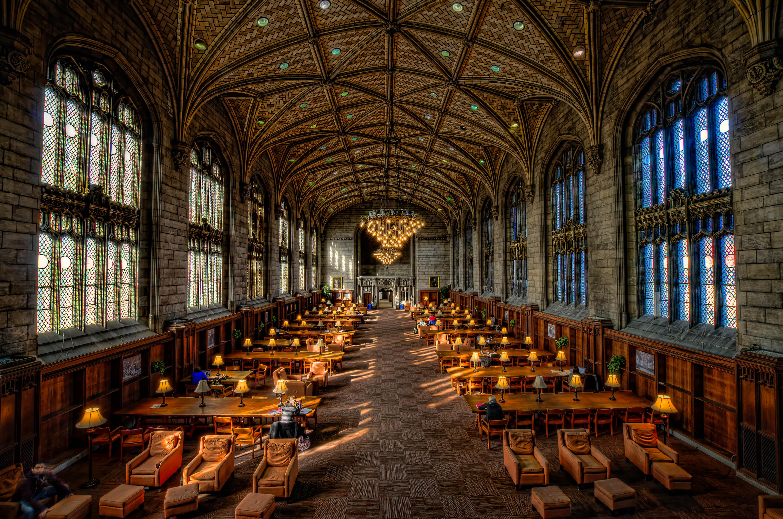 Harper Library da University of Chicago