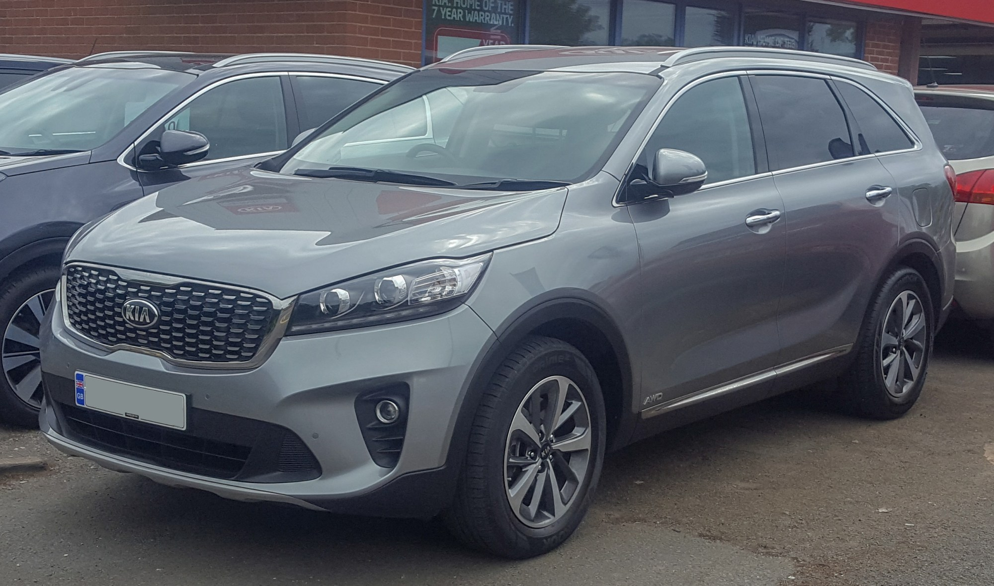hight resolution of kia sorento