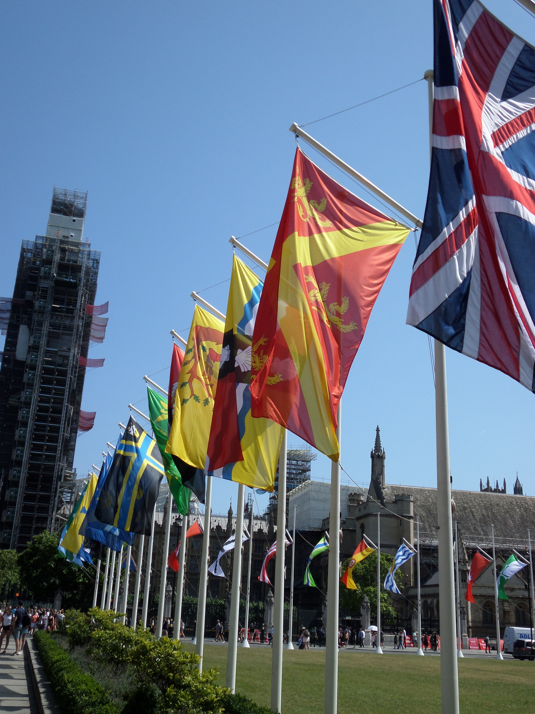 liste des drapeaux britanniques