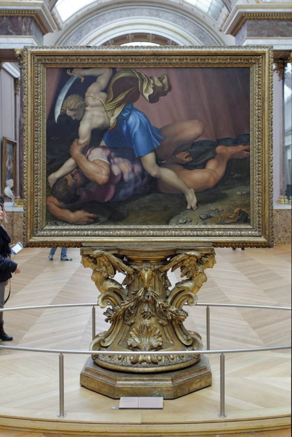 David and Goliath Louvre Painting