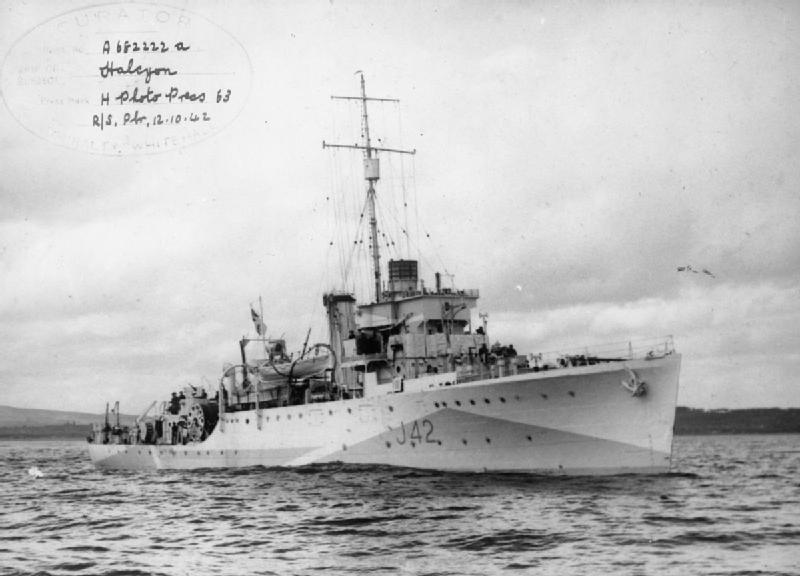HMS Halcyon J42  Wikipedia