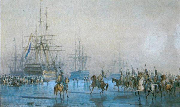Кавалерия и флот.