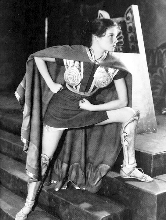 Katharine Hepburn in The Warriors Husband Katharine Hepburn Fashion