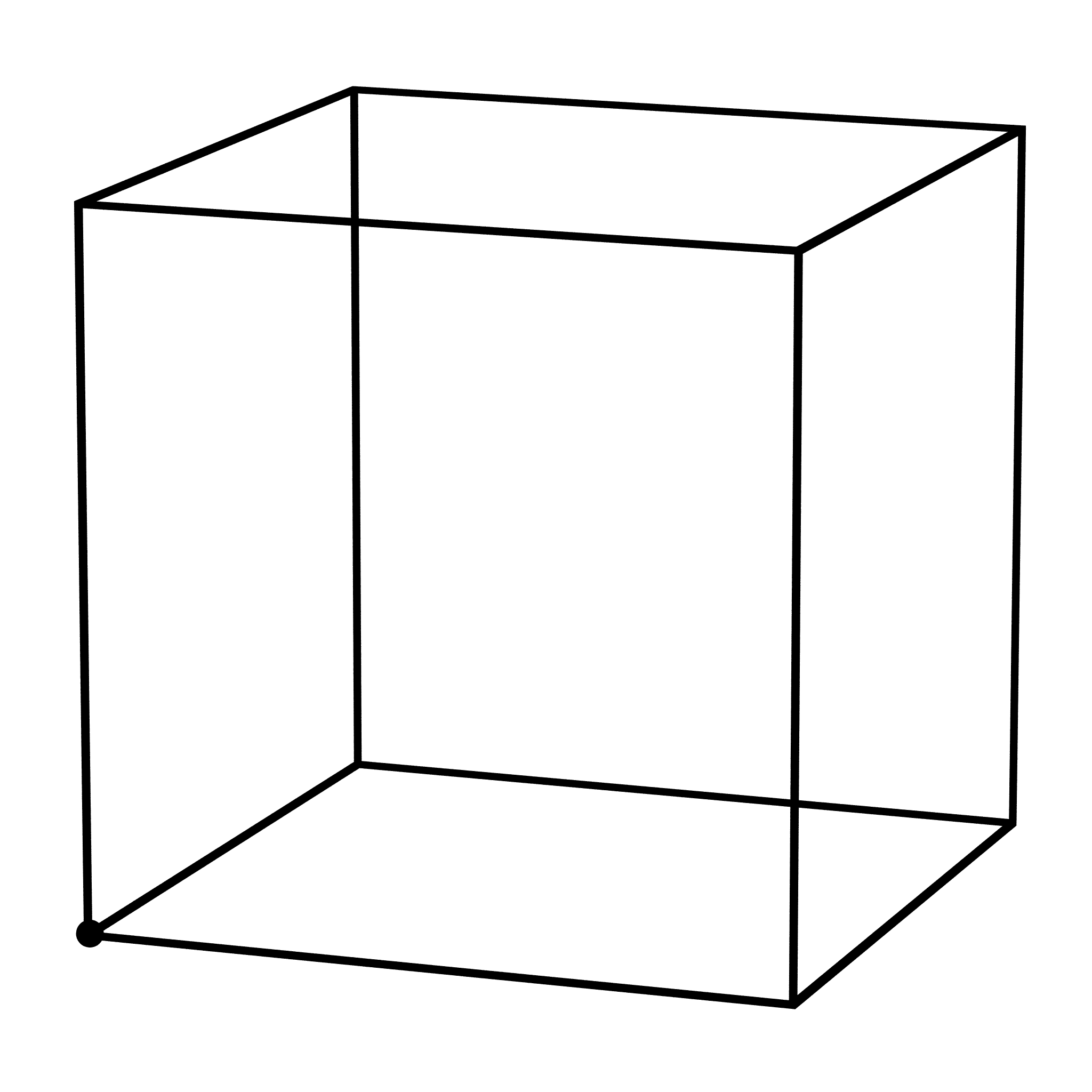Solved How To Draw A Cubic In Java Like Below