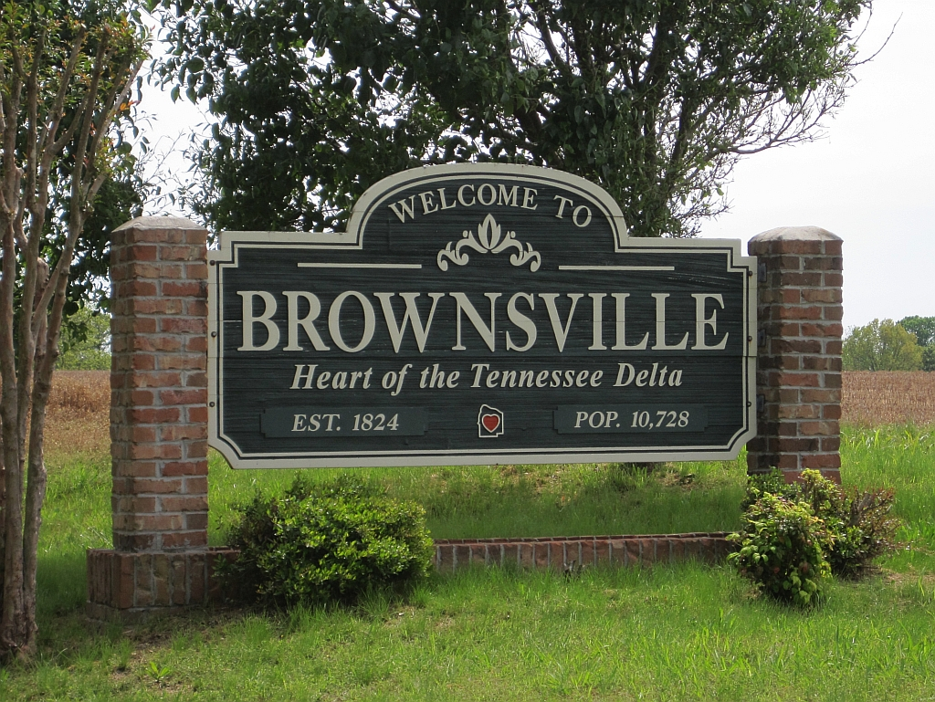 Brownsville Sign