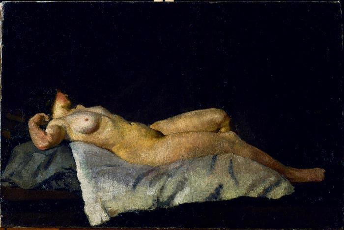 Nude Woman 1912 by Dora Carrington (source: Wikimedia Commons)