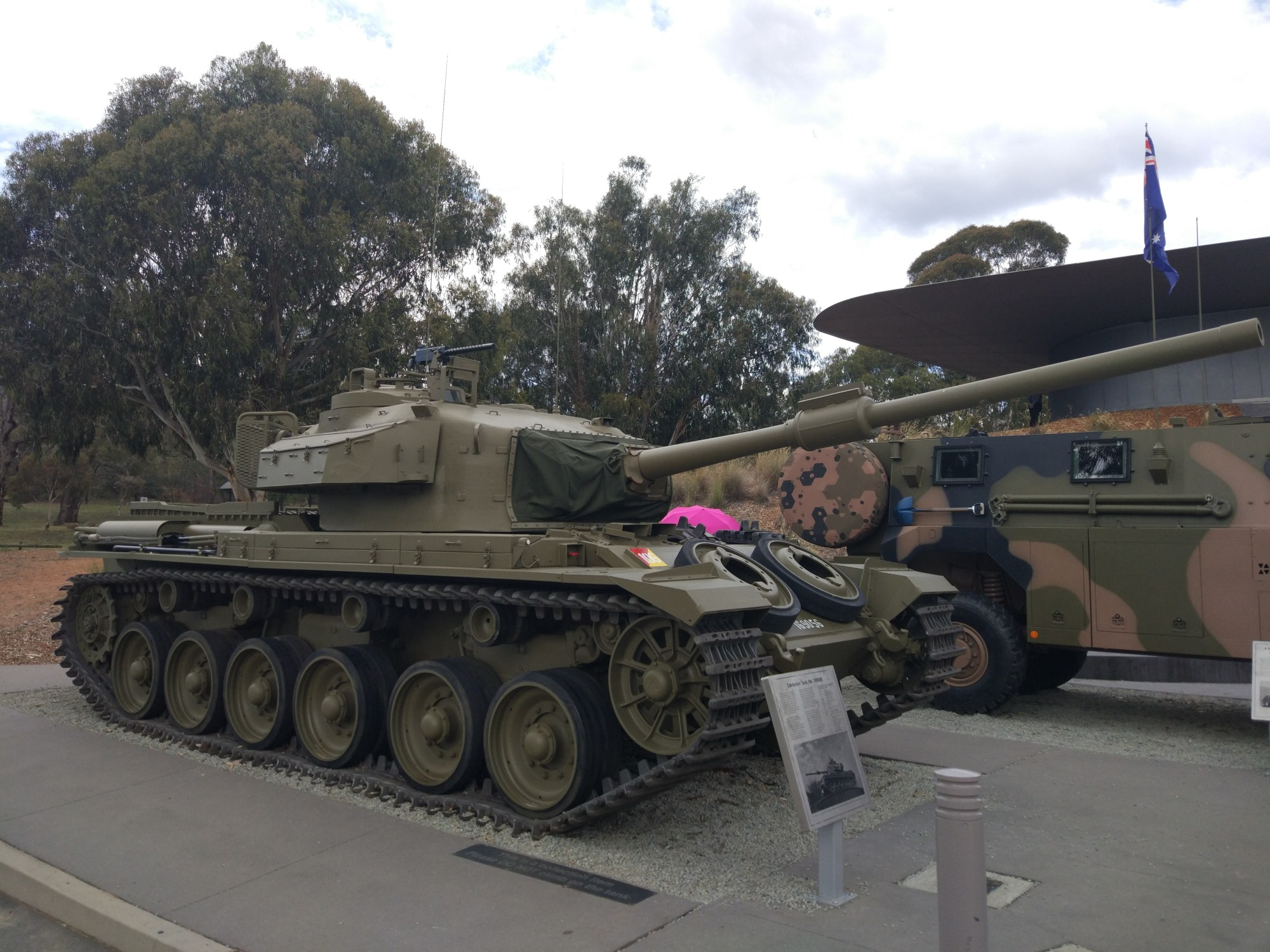 hight resolution of centurion tank at the australian war memorial