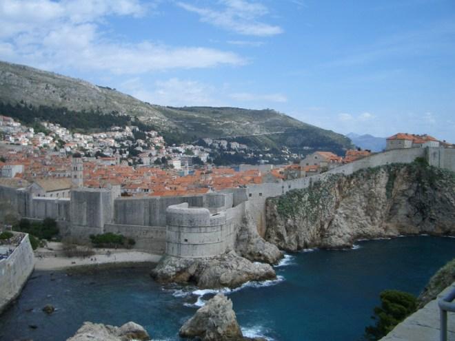 Dubrovnik-Walls-Harbor