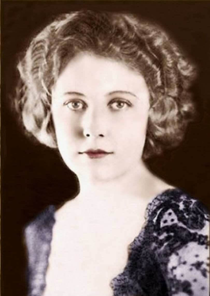 Actress Edna Purviance