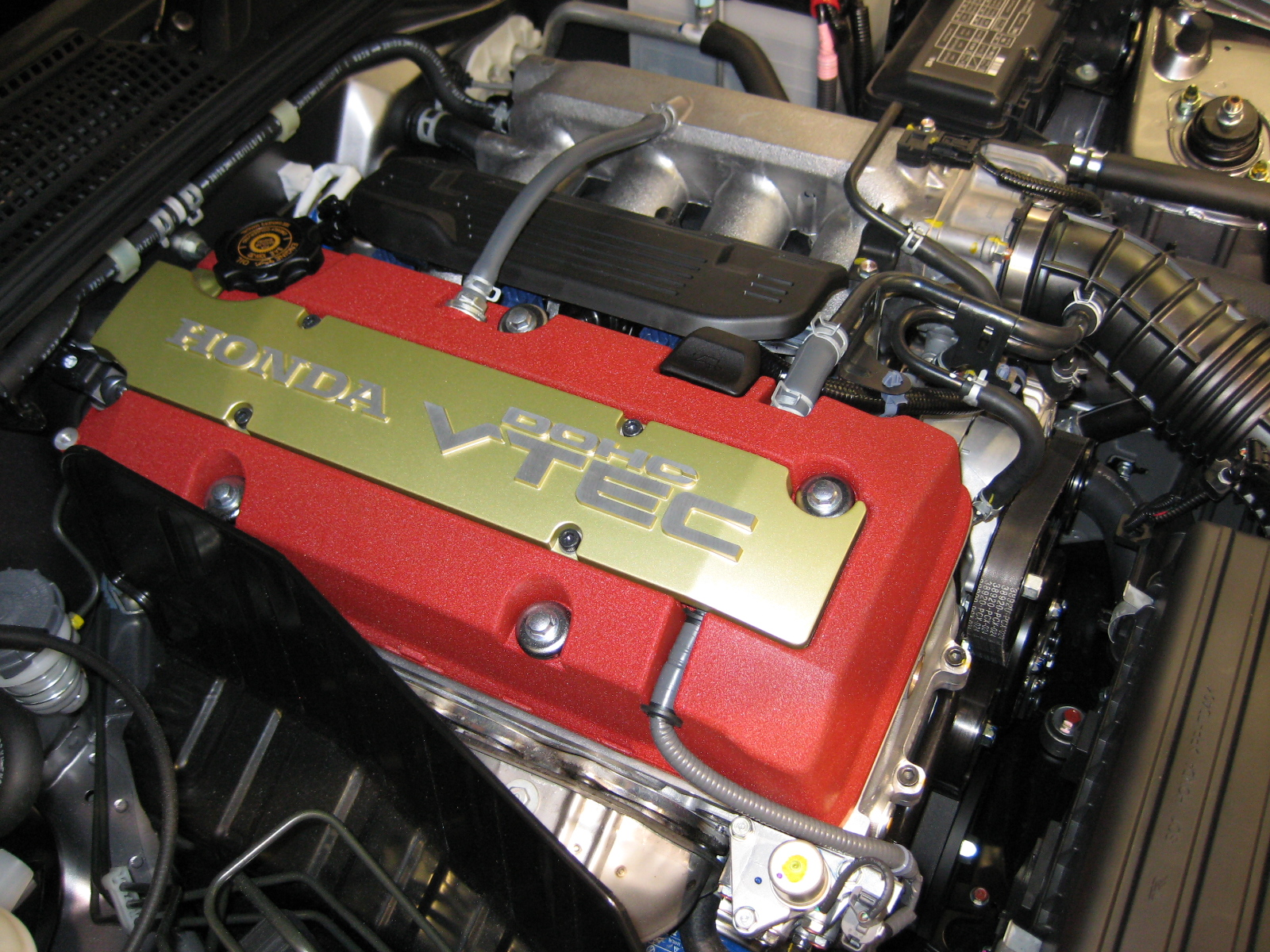 hight resolution of honda f engine