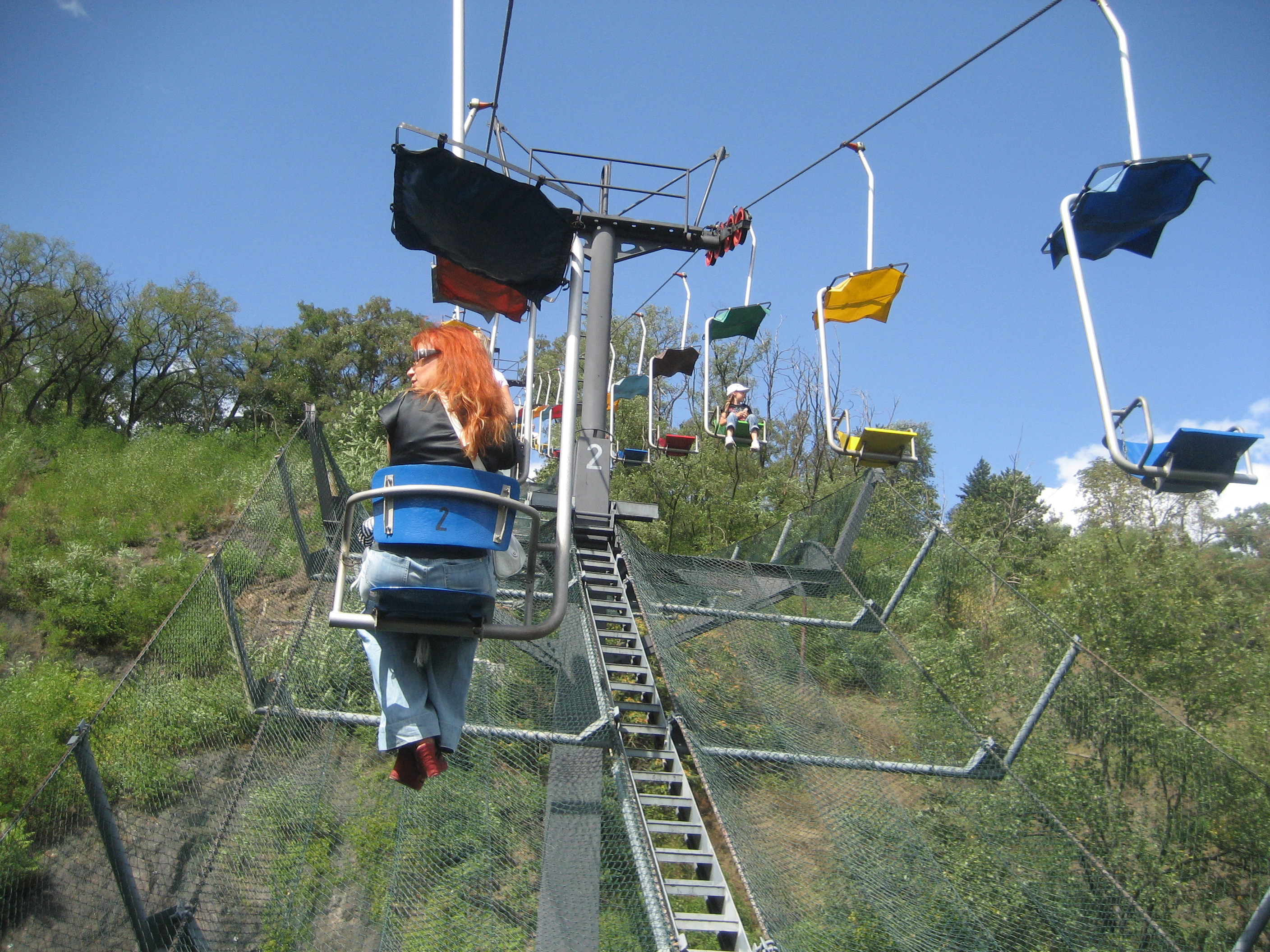 chair lift accident colorful dining chairs file prague zoo chairlift passengers view 29aug2009 jpg