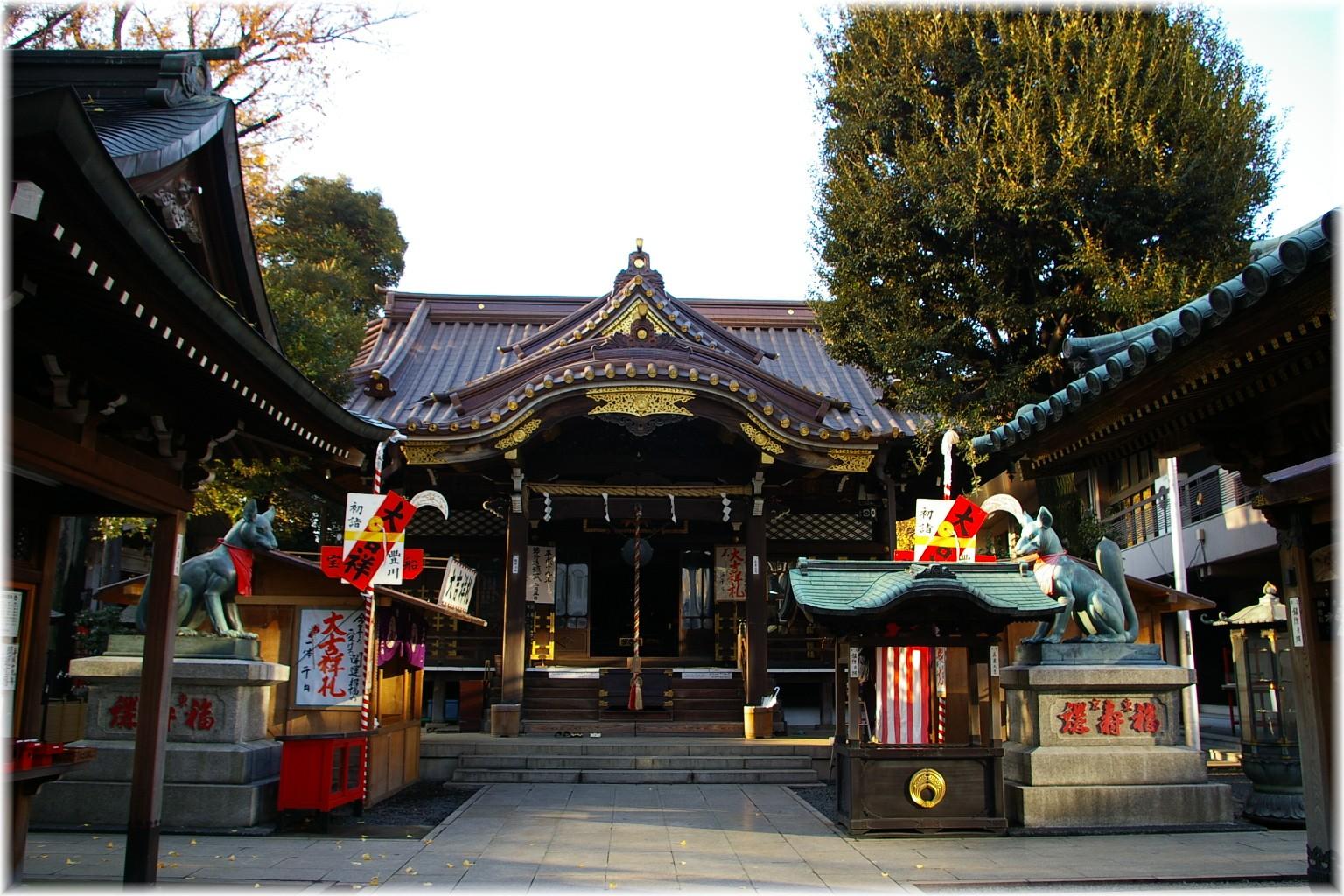 豊川稲荷東京別院 - Wikipedia