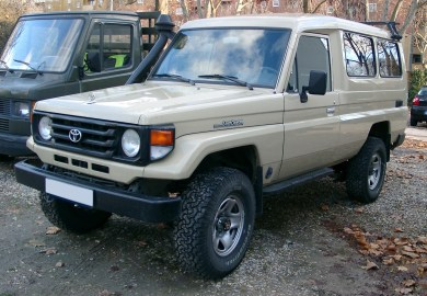 Old Toyota Land Cruiser