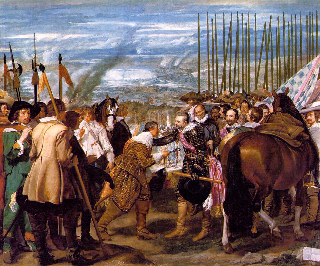 La rendición de Breda. Diego Velázquez