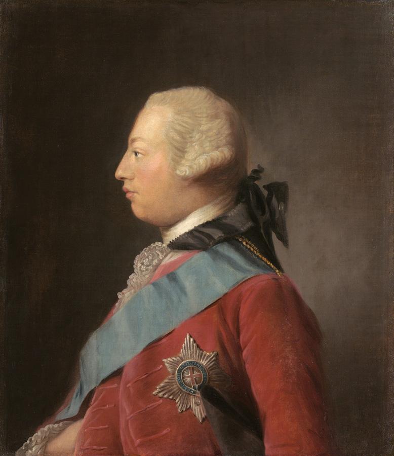 George III by Allan Ramsay, 1762