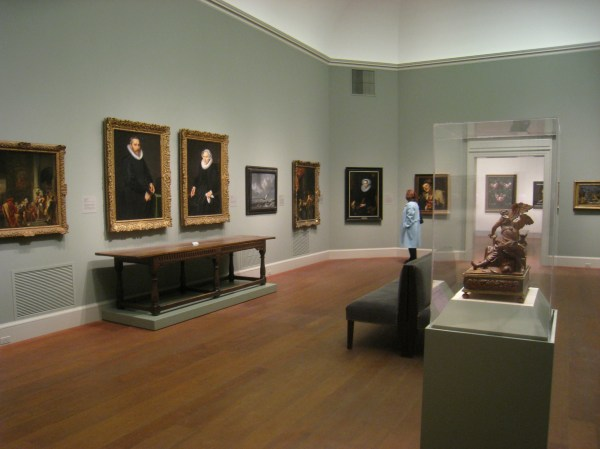 File Interior View Worcester Art Museum - Img Wikimedia Commons