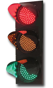 English: A Led Traffic lights