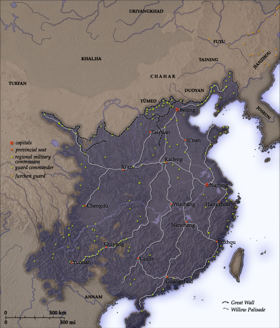 L'empire Ming - Wikicommons