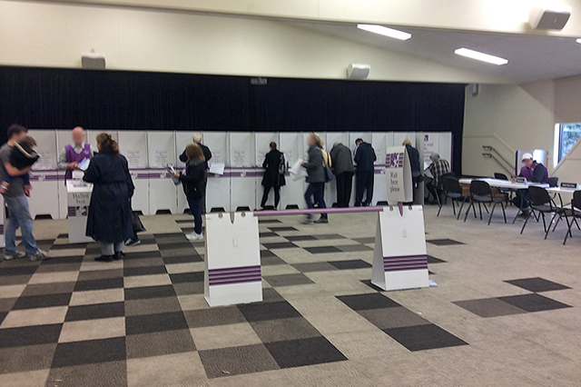 Voting booths in Melbourne, Image: WikiCommons