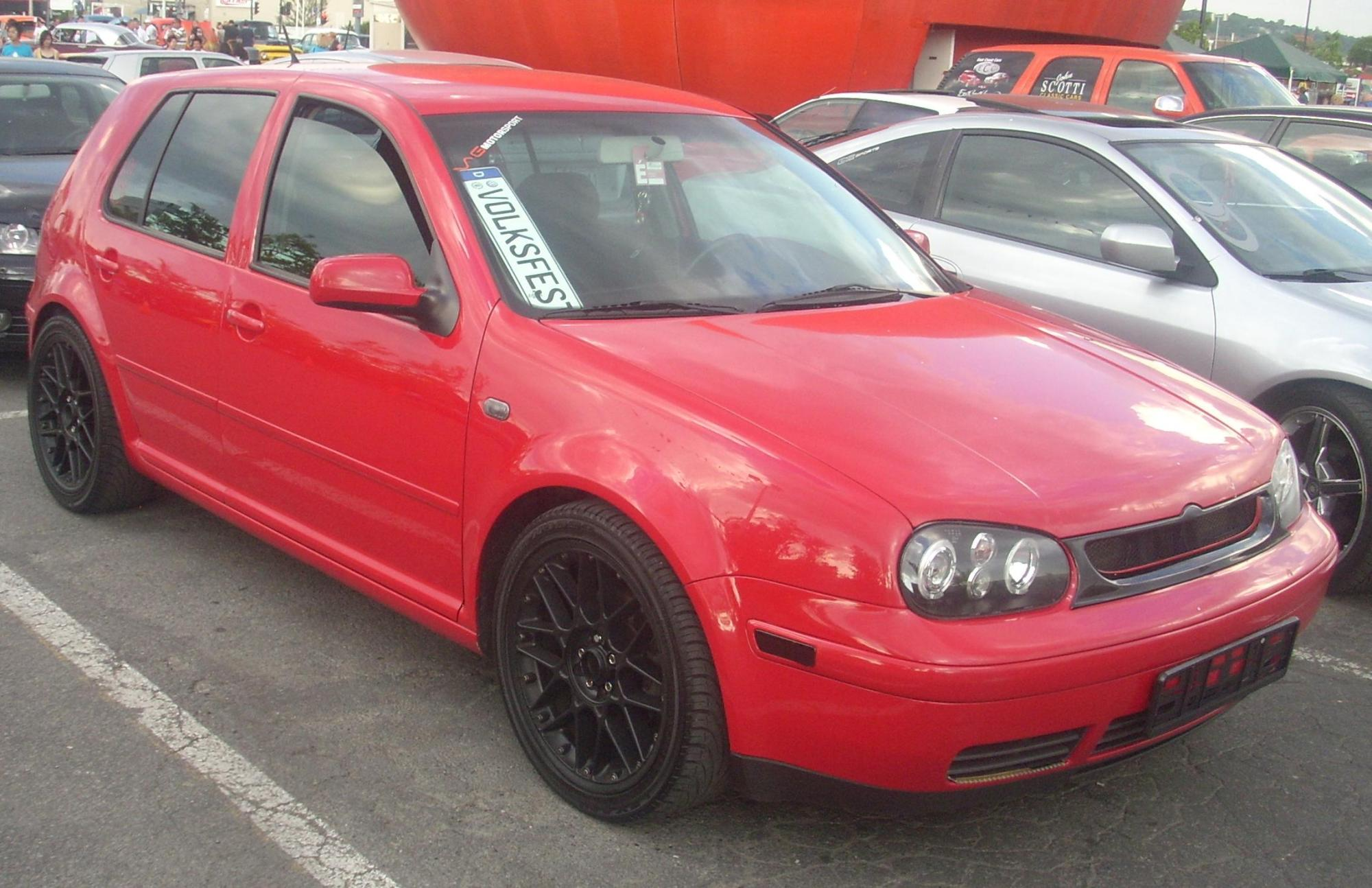 hight resolution of file tuned volkswagen golf gti mk4 5 door orange julep 10