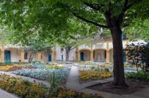 Hospital of the Courtyard at Arles Van Gogh