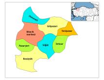 Bilecik Provinz Wikipedia
