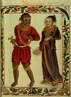 A Tagalog couple of the Maharlika nobility cas...