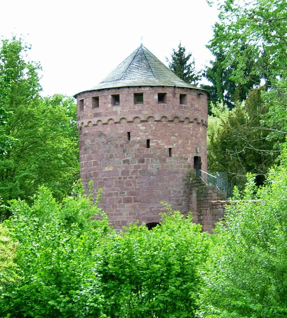 Burg Kerpen Saarland  Wikipedia