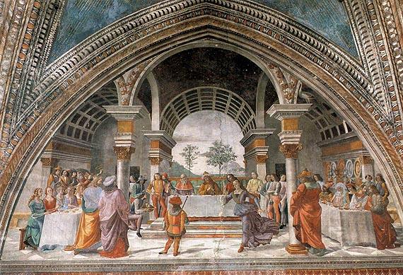 File:Cappella tornabuoni, 17, benchetto di erode.jpg