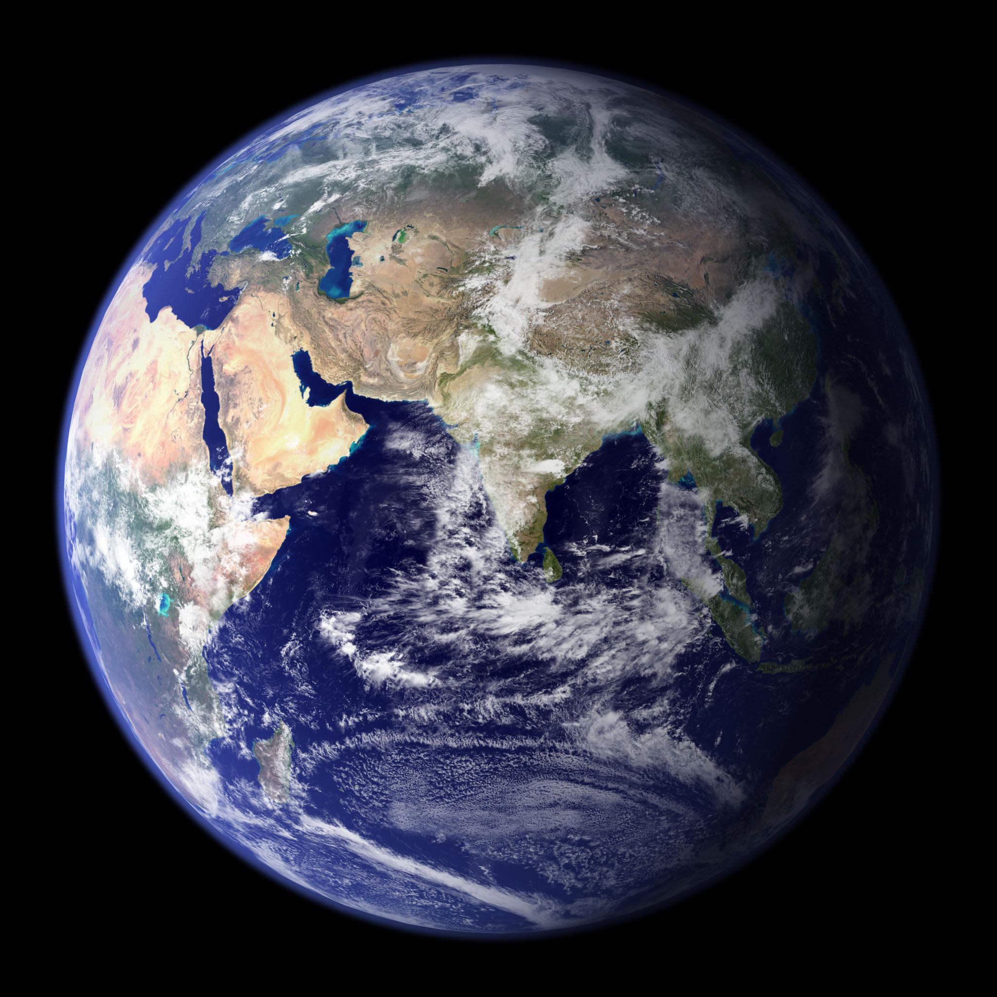 Jorden liknar en vacker tavla. Tyvärr har vi ingen kopia. Originalversionen måste därför behandlas med största försiktighet.