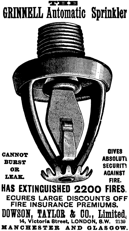 small resolution of an 1897 grinnell automatic sprinkler advertisement