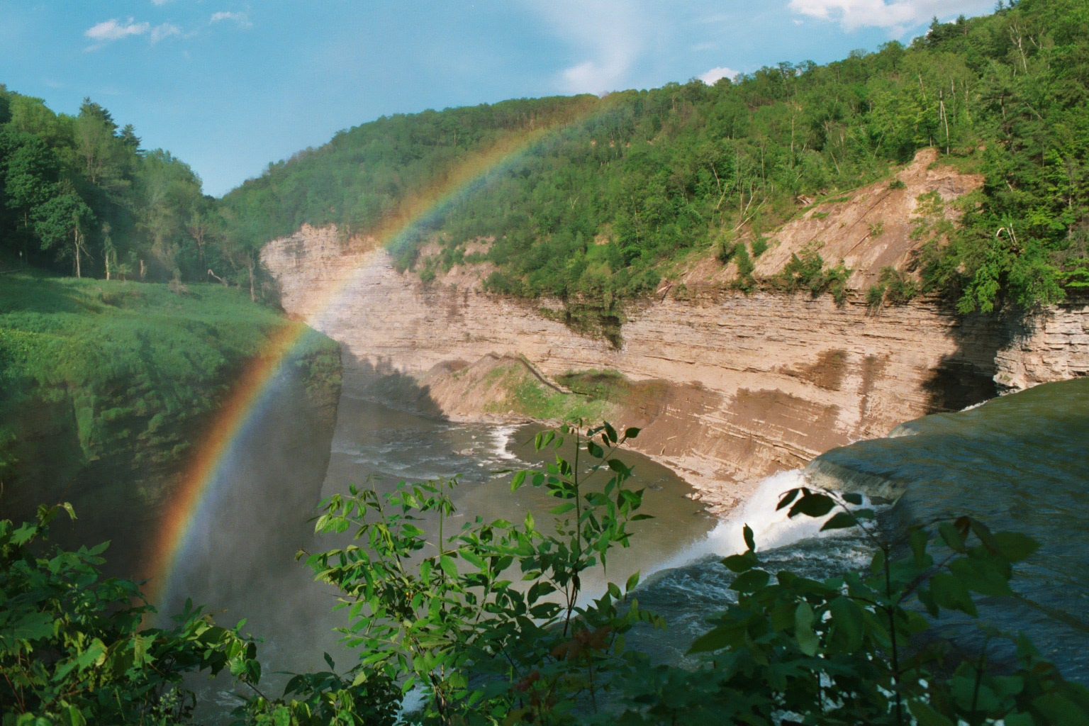 FileLetchworth State Park Middle Falls 2002jpeg  Wikipedia
