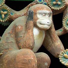 English: One of the Three Wise Monkeys. Españo...