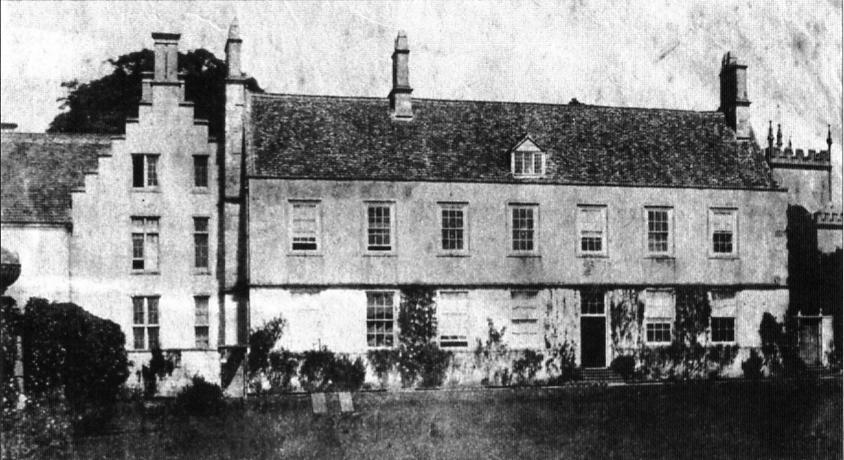 Early photo of The Lower House, Alderley, Gloucestershire