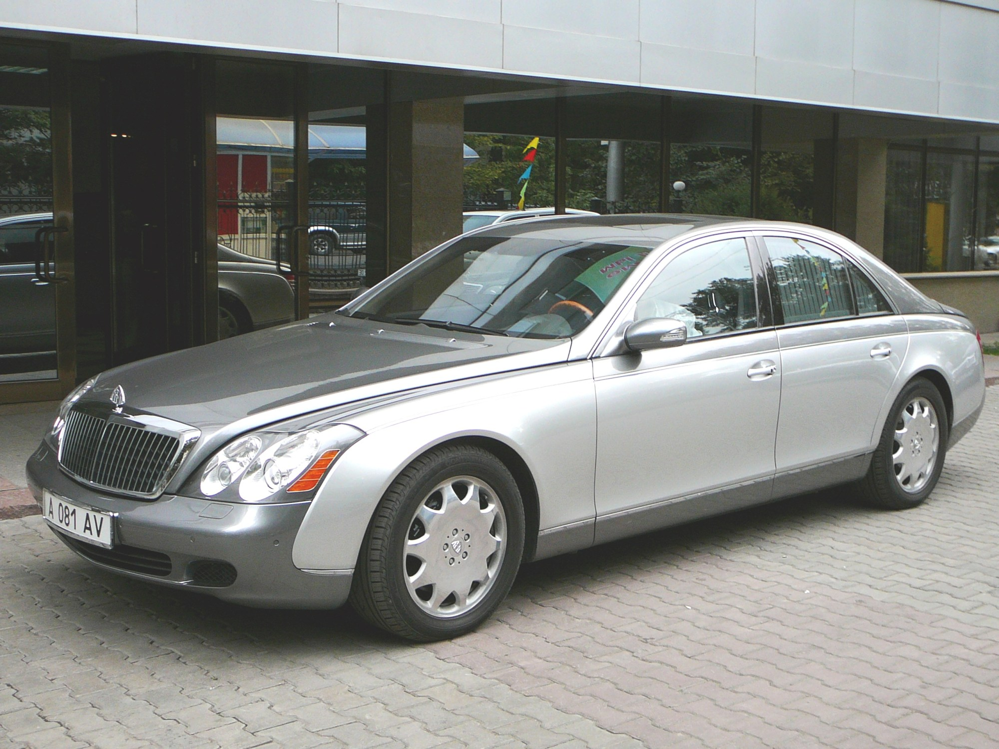 hight resolution of maybach 57 and 62