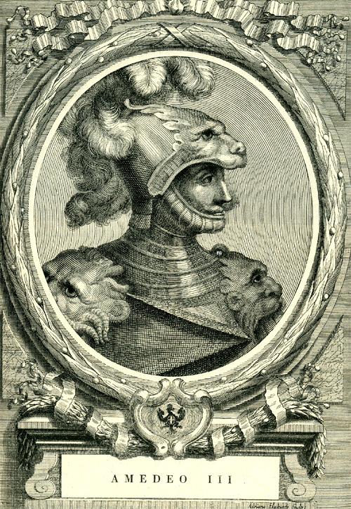 Amedeo III di Savoia  Wikipedia