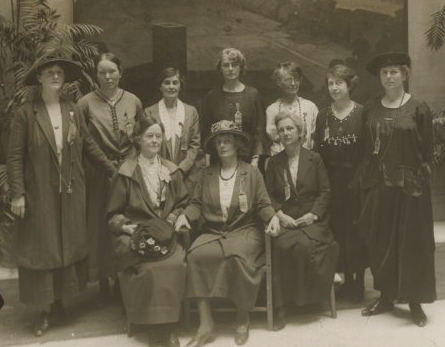 Australian delegation(detail).jpg  Australian delegation to the International Woman Suffrage Alliance Congress in Rome, 1923