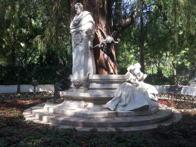 monumento a bécquer Parque de María Luisa