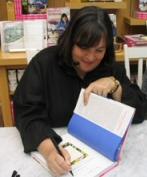 Ina Garten at a book signing
