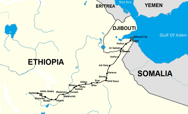 Image result for djibouti railway