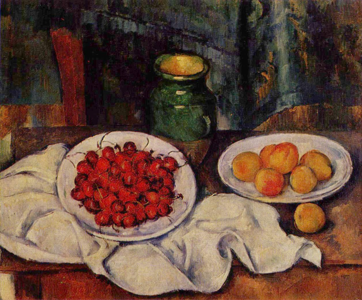 Paul Cezanne, Still Life 1883-87-National Gallery of Art